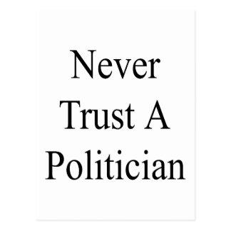 Never Trust A Politician Postcard