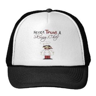 Never Trust a Skinny Chef Cap