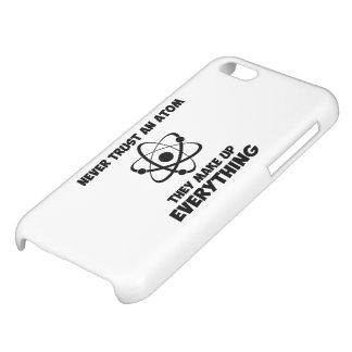 Never Trust An Atom iPhone 5C Cases