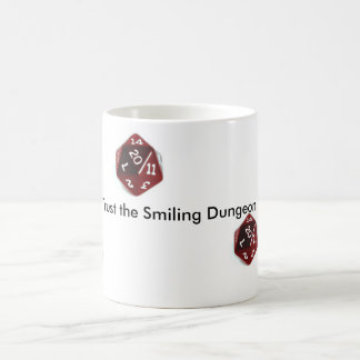 Never Trust the Smiling Dungeon Master Mug