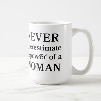 Never UnderEstimate the Power of a Woman Mug