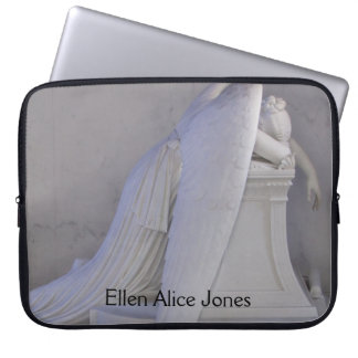 Never Weep Alone Angel (side view) Sleeve Laptop Computer Sleeves