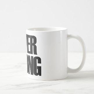 Never Wrong Basic White Mug