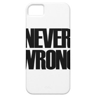 Never Wrong iPhone 5 Cases
