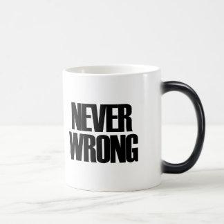 Never Wrong Morphing Mug