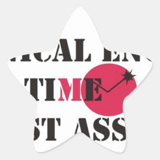 never wrong star sticker