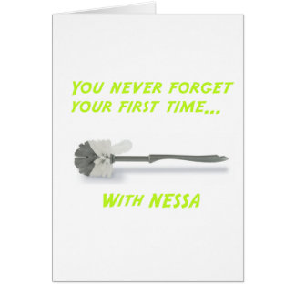 Neverforget1stNessa Greeting Card