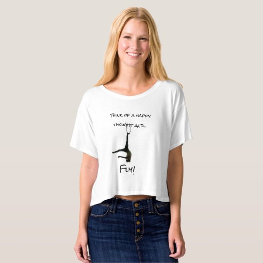 Neverland Happy Thoughts aerial shirt