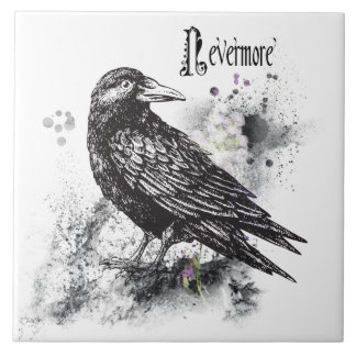 "Nevermore (6"" X 6"") Ceramic Photo Tile"