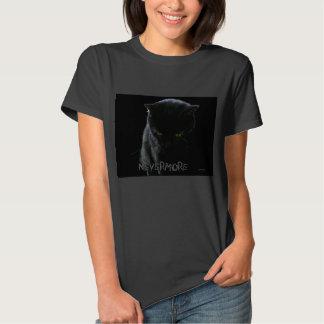 Nevermore Black Cat Tee Shirt