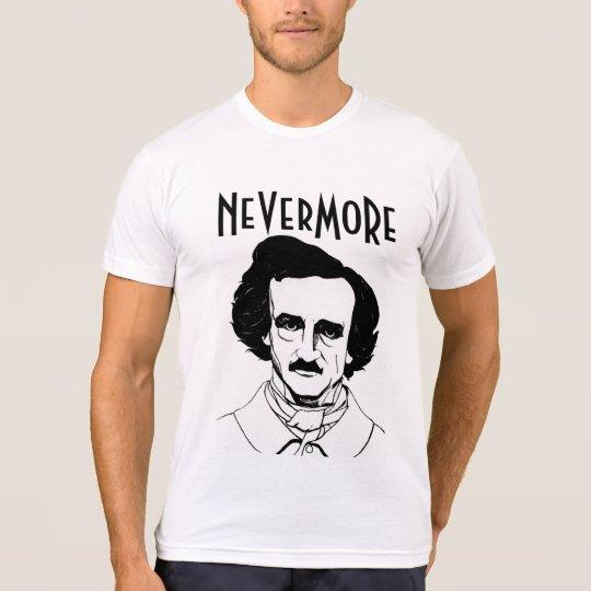 NeverMore Edgar Allan Poe T-shirt