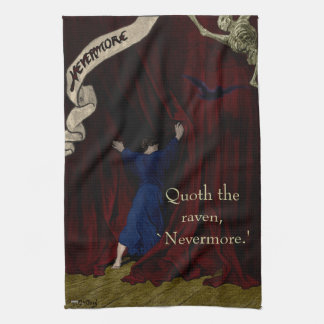 Nevermore... Kitchen Towels