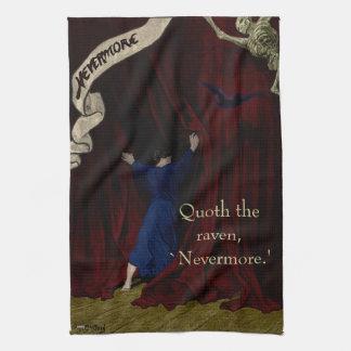 Nevermore... Tea Towel