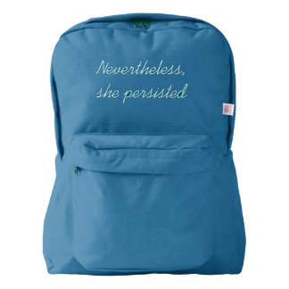 Nevertheless, She Persisted Backpack