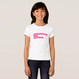Nevertheless, She Persisted Girls T-Shirt