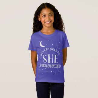 Nevertheless, She Persisted Girls Tee - Elizabeth