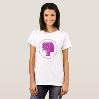 Nevertheless, She Persisted (Magenta) T-Shirt