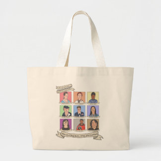 Nevertheless, She Persisted tote bags (various)