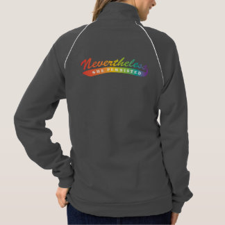 Nevertheless, she persisted. Track Jacket