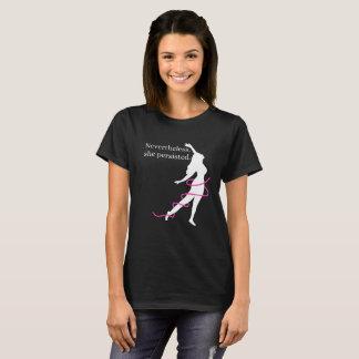 Nevertheless Women Pink Ribbon Shirt