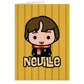 Neville Longbottom Cartoon Character Art Card