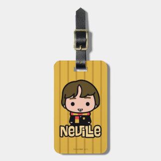 Neville Longbottom Cartoon Character Art Luggage Tag