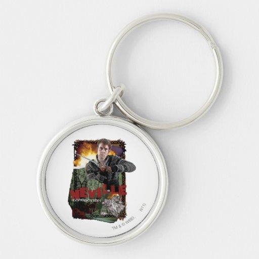 Neville Longbottom Collage 2 Keychain
