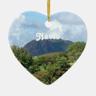 Nevis Landscape Christmas Ornament