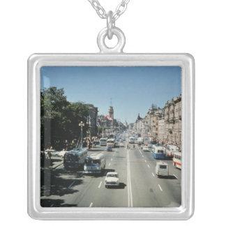 Nevsky Prospekt Silver Plated Necklace