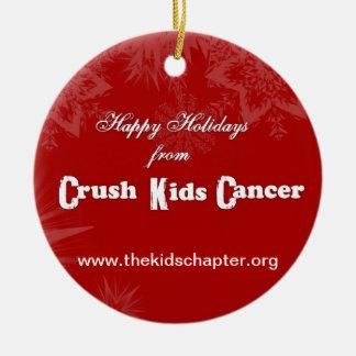 NEW 2013 Crush Kids Cancer Ornament