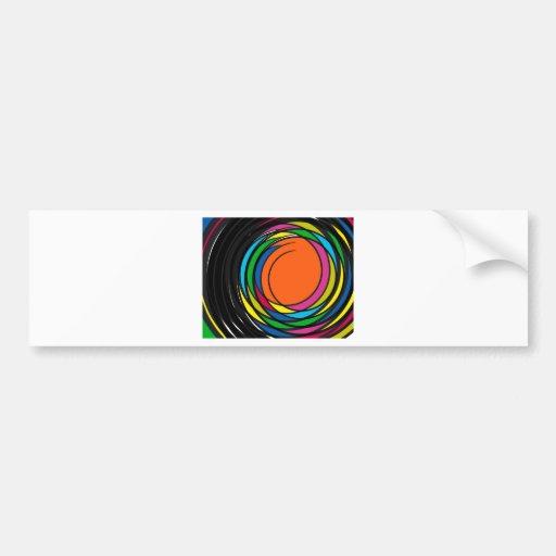 New 2014 graphic design bumper sticker