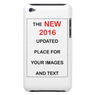 New 2016 place for images and text. barely there iPod case