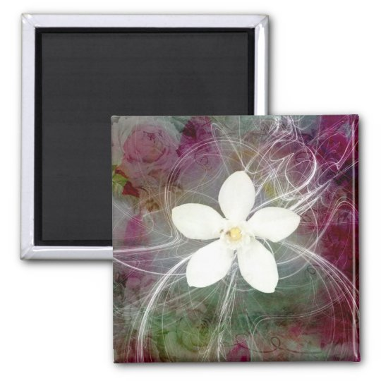 New 5 Large Square Magnet
