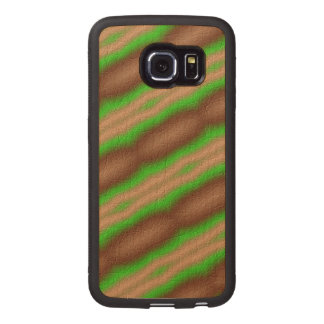 New Abstract pattern Wood Phone Case