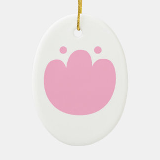 New acrylic fresh Pink Tulip. New arrival in Shop Ceramic Oval Decoration
