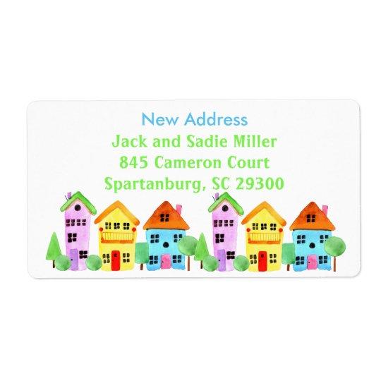 New Address Housewarming Neighbourhood Moving