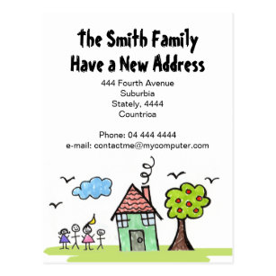 new address notification