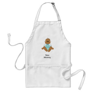 New African American Baby Gifts & Invites Standard Apron