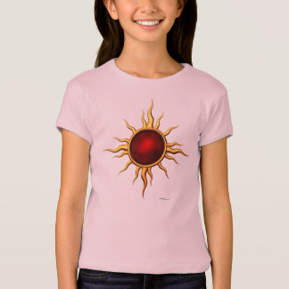 New Age Astral Star: Ruby Sun T-Shirt