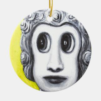 New Age Buddha (Japanese pop art) Christmas Ornament