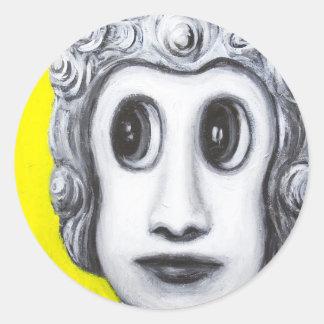 New Age Buddha (Japanese pop art) Sticker