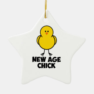 New Age Chick Christmas Tree Ornaments