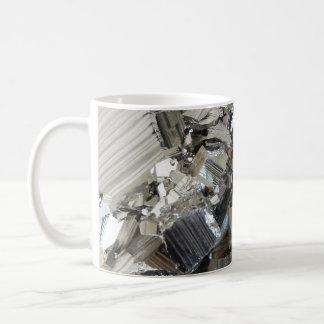 New Age Crystals Iron Pyrite Cluster Photo Basic White Mug