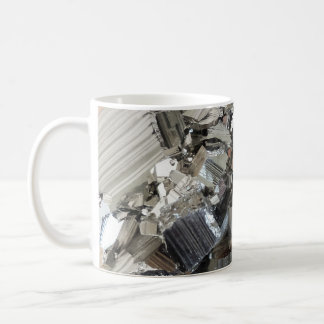 New Age Crystals Iron Pyrite Cluster Photo Classic White Coffee Mug