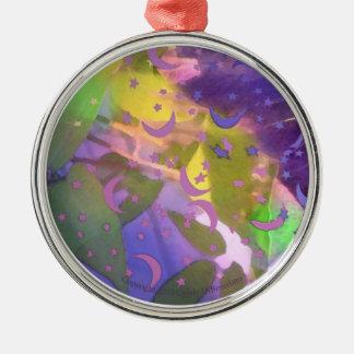 New Age Fantasy Spiritual Inspiring Ornaments Moon
