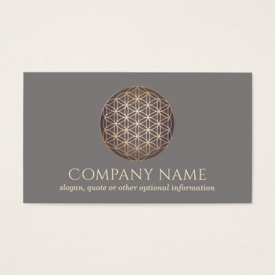 New Age Flower Of Life Spiritual Healer Business