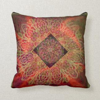 New Age - Geometrical design by Carol Zeock Cushion