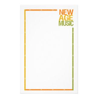 New Age Music stationary, customizable Stationery