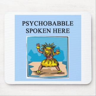 new age psychology design mouse mat