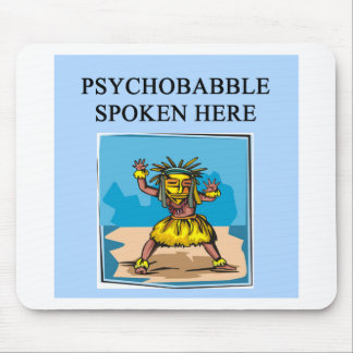 new age psychology design mouse pad